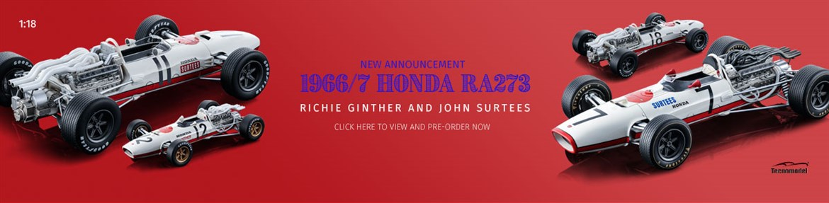 1:18 Ginther and Surtees 1966-7 Honda RA273 Diecast Model Car Review
