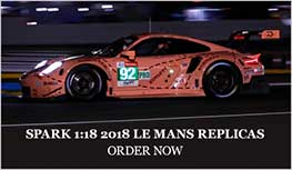 1:18 2018 Le Mans models from Spark