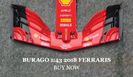 Burago 1:43 2018 Ferrari SF71H Diecast Model Car Review