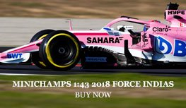 2018 Force India VJM11 model from Minichamps