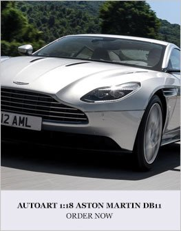 1:18 Aston Martin DB11 Diecast Model Car Review