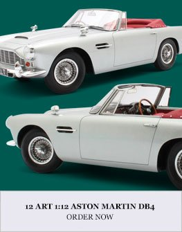 12 Art 1:12 Aston Martin DB4 Diecast Model Car Review