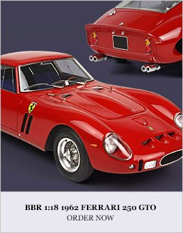 BBR 1962 Ferrari 250 GTO Diecast Model Car Review