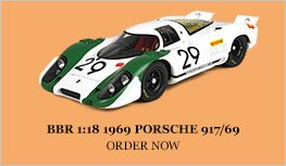 BBR 1:18 1969 Porsche 917/69 Diecast Model Car Review