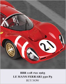 BBR #21 1966 Ferrari 330 P3 Diecast Model Car Review
