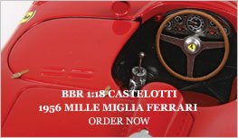 BBR 1:18 Castellotti 1956 Ferrari Mille Miglia Diecast Model Car Review