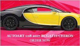 1:18 2017 Bugatti Chiron Diecast Model Car Review