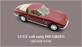 Cult 1:18 1965 Iso Grifo Diecast Model Car Review