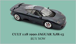 Cult 1990 Jaguar XJR-15 Diecast Model Car Review