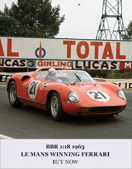 Ferrari 250P Le Mans 1963 model from BBR
