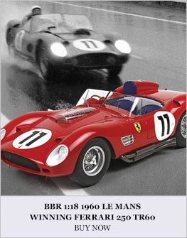 1:18 #11 1960 Ferrari 250 TR60 Le Mans Diecast Model Car Review