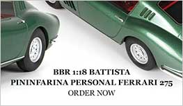 1:18 Ferrari 275 GTB. Battista Pininfarina personal car model from BBR