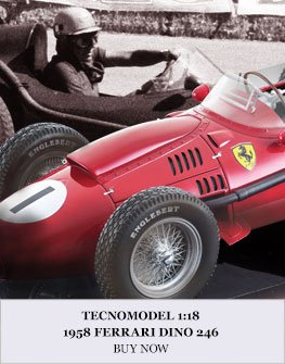 Tecnomodel 1:18 1958 Ferrari Dino 246 Diecast Model Car Review