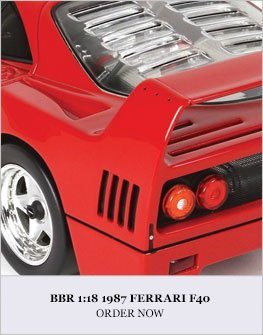 1:18 1987 Ferrari F40 Diecast Model Car Review