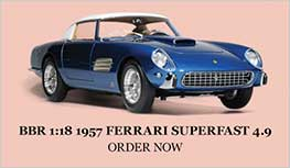 1:18 1957 Ferrari Superfast 4.9