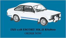 IXO 1:18 1977 Ford Escort Mk.II RS1800 Diecast Model Car Review