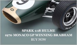 Hulme 1970 Brabham BT20 Monaco model from Spark