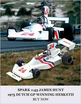 1:43 Hunt 1975 Hesketh 308B