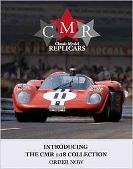 Introducing the CMR range of 1:18 classic cars