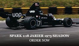 Spark 1:18 Jean-Pierre Jarier 1975 Shadow DN5 Diecast Model Car Review