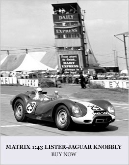 Lister Jaguar Knobbly model from Matrix