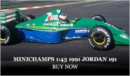 Minichamps 1:18 1991 Jordan 191 Diecast Model Car Review