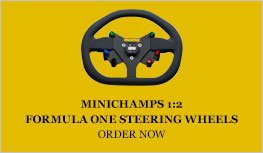Minichamps Formula One steering wheels diecast model car review