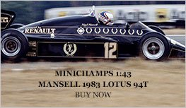 Norev Minichamps 1:18 Mansell 1983 Lotus 94T Diecast Model Car Review