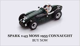 1:43 Moss 1952 Connaught A. Italy model from Spark