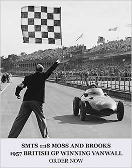 Moss and Brooks 1957 Vanwall