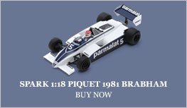 Piquet 1981 Brabham BT49 Argentina model from Spark