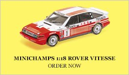 Minichamps 1:18 Rover Vitesse Diecast Model Car Review