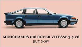 1:18 1986 Rover Vitesse 3.5 V8 model from Minichamps