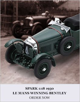Spark 1:18 1930 Le Mans winning Bentley Speed Six diecast model car review