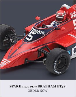 Spark 1:43 1979 Brabham BT48 Diecast Model Car Review