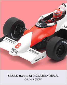 Spark 1:43 1984 Mclaren MP4/2 Diecast Model Car Review