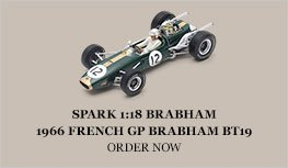 Spark 1:18 Brabham 1966 Brabham BT19 French GP Diecast Model Car Review