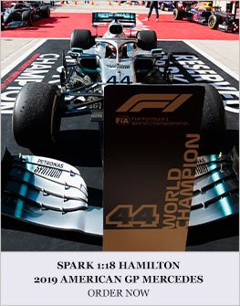 Spark 1:18 Hamilton 2019 American GP Mercedes Diecast Model Car Review