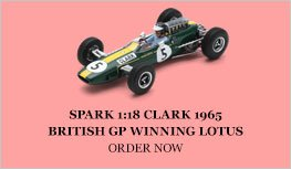 Spark 1:18 Clark 1965 Lotus 33 Diecast Model Car Review