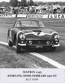 Matrix 1:43 Stirling Moss 1960s Ferrari 250 GT Diecast Model Car Review
