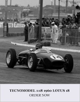 Tecnomodel 1:18 1960 Lotus 18 Diecast Model Car Review