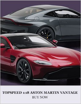 TopSpeed 1:18 Aston Martin Vantage Diecast Model Car Review