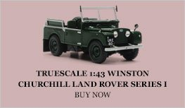 TrueScale 1:43 Winston Churchill Land Rover series I Diecast Model Car Review