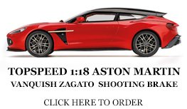 Top Speed Astin Martin Vanquish Zagato diecast model car review