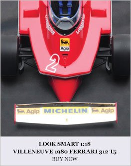 Look Smart 1:18 Villeneuve 1980 Ferrari 312 T5 Diecast Model Car Review