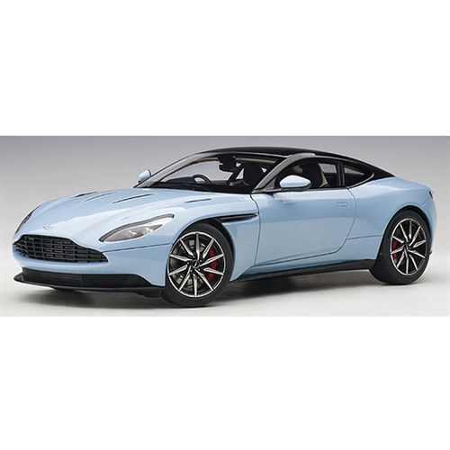 autoart aston martin db11 - frosted glass blue 1:18