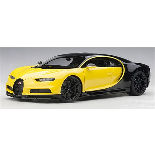 bugatti chiron 2017 yellow black 1 18. Black Bedroom Furniture Sets. Home Design Ideas