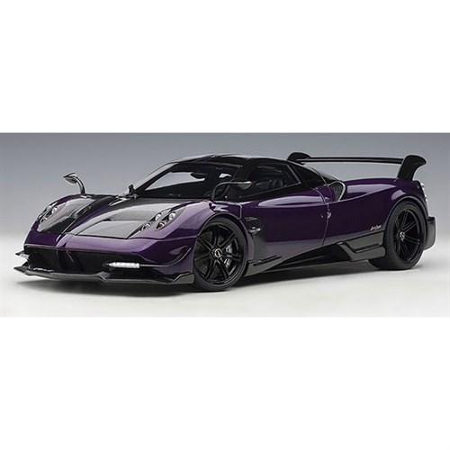 autoart pagani huayra bc 2016 - purple/carbon 1:18