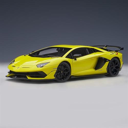 Autoart Lamborghini Aventador Svj 2019 Pearl Yellow 1 18