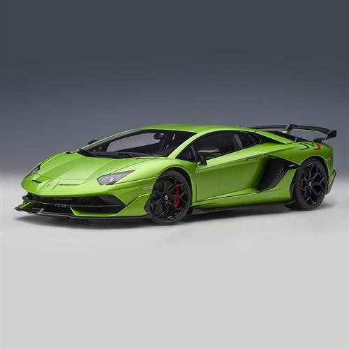 Autoart Lamborghini Aventador Svj 2019 Matt Green 1 18